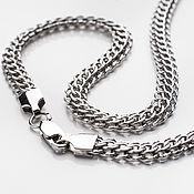 Украшения handmade. Livemaster - original item Silver chain with rodding