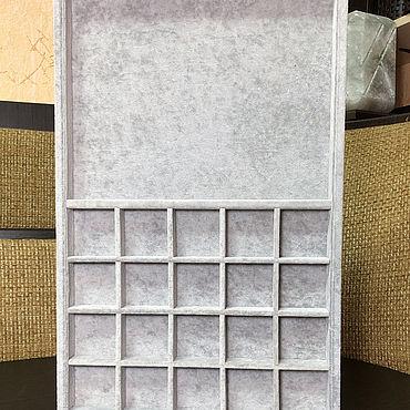 Материалы для творчества ручной работы. Ярмарка Мастеров - ручная работа Планшет-органайзер комбинированный для хранения. Handmade.