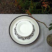 Винтаж handmade. Livemaster - original item ceramic dessert plates, holland. Handmade.