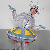 Одежда handmade. Livemaster - original item Alien-girl. Animator-actor suit. Handmade.