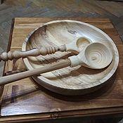 Ложки ручной работы. Ярмарка Мастеров - ручная работа Посуда деревянная. Handmade.