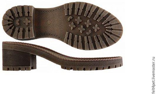 Обувь ручной работы. Ярмарка Мастеров - ручная работа. Купить Подошва ТЭП для обуви. Handmade. Бежевый, подошва для ботинок