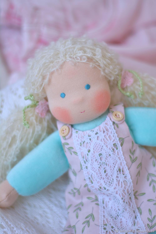 Вальдорфская кукла Неженка, 26 см, Вальдорфская игрушка, Краснодар, Фото №1