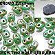 RK1120 - OPAQUE TURQUOISE GREEN PICASSO\r\n (непрозрачный бирюзово-зеленый с покрытием рикассо )