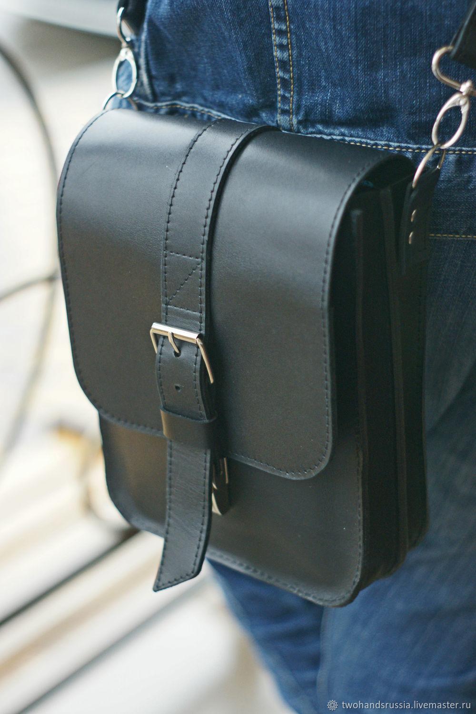 мужская кожаная сумка для документов, Мужские сумки, Краснодар, Фото №1