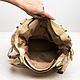 Женские сумки ручной работы. Кожаная сумка-мешок с цветами.. Мастер Корб. Ярмарка Мастеров. Сумка из кожи, сумка с цветами