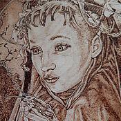 """Картины и панно ручной работы. Ярмарка Мастеров - ручная работа Картина """"Видение"""". Handmade."""