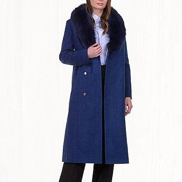 Одежда ручной работы. Ярмарка Мастеров - ручная работа Зимнее пальто длинное 39П. Handmade.