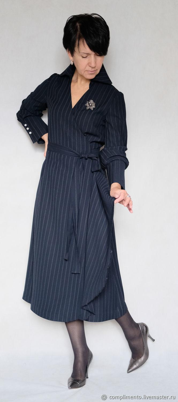 b0f8e14a005 Платье в полоску с запАхом. Designer Nelly Novozhilova (complimento) ...