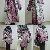 """Одежда ручной работы. Ярмарка Мастеров - ручная работа Пальто """"кокон"""". Handmade."""