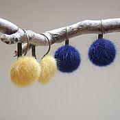 Украшения handmade. Livemaster - original item Earrings Christmas Winter Fur Fluffies Meats To Choose. Handmade.