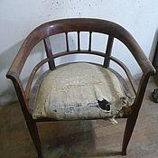 Винтаж ручной работы. Ярмарка Мастеров - ручная работа Реставрация старинного кресла красного дерева.. Handmade.