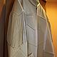 """Верхняя одежда ручной работы. Ярмарка Мастеров - ручная работа. Купить Пальто кожаное """"Техасское"""". Handmade. Бежевый, воротник-стойка"""