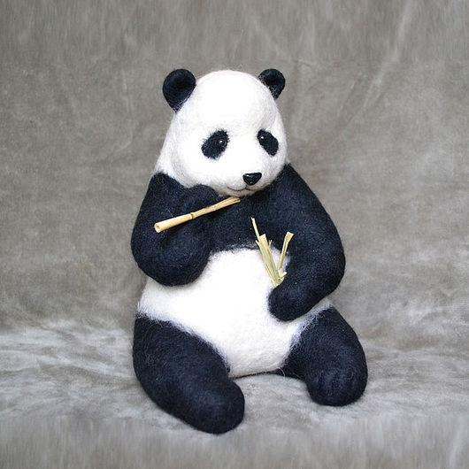 Игрушки животные, ручной работы. Ярмарка Мастеров - ручная работа. Купить Карапуз. Handmade. Чёрно-белый, сувенир
