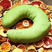 """Подарки к праздникам ручной работы. Ярмарка Мастеров - ручная работа Греющая арома-подушка на шею """"Травяной лен"""". Handmade."""