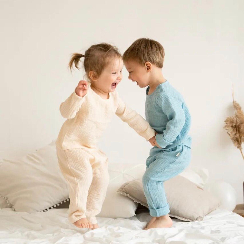 Костюмчики из муслина, Комплекты одежды для малышей, Москва,  Фото №1
