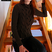 Одежда handmade. Livemaster - original item Knitted sweater women`s