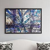 Картины и панно handmade. Livemaster - original item Modern paintings to buy, Azul. Handmade.