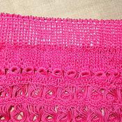 Одежда ручной работы. Ярмарка Мастеров - ручная работа Розовая юбочка. Handmade.