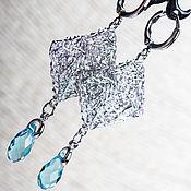 """Украшения ручной работы. Ярмарка Мастеров - ручная работа Серьги """"Diamond"""".. Handmade."""