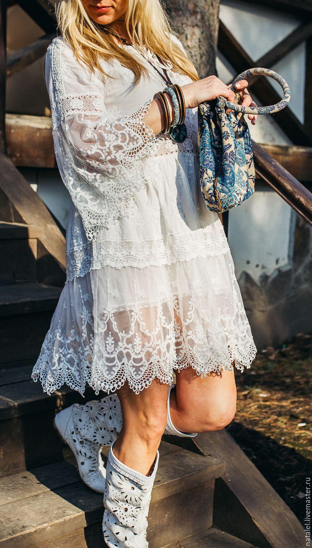 Батист туника платье