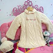 """Работы для детей, ручной работы. Ярмарка Мастеров - ручная работа Пальто для девочки """"Магия"""". Handmade."""