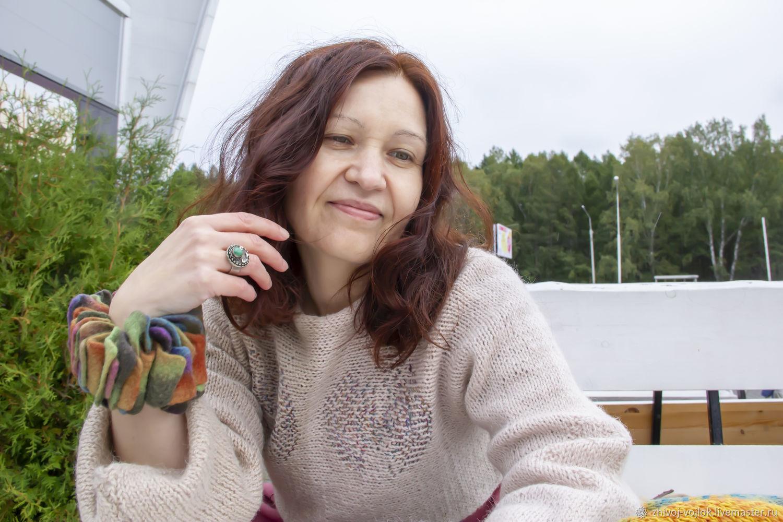 Экстравагантный валяный браслет оригинального дизайна, Браслеты, Томск, Фото №1
