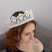 Свадебный салон ручной работы. Ярмарка Мастеров - ручная работа Корона-обруч для фотосессии. Handmade.