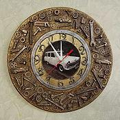 """Часы классические ручной работы. Ярмарка Мастеров - ручная работа Часы """"Железный друг"""". Handmade."""
