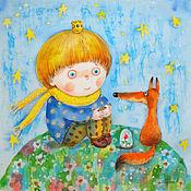 Картины и панно ручной работы. Ярмарка Мастеров - ручная работа Маленький принц. Handmade.