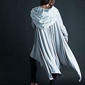 Одежда handmade. Livemaster - original item Asymmetrical tunic with hood, Tunic-TU0607TR. Handmade.