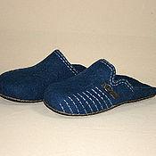 Обувь ручной работы handmade. Livemaster - original item Mens felted Slippers Popular. Handmade.