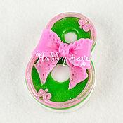 Материалы для творчества handmade. Livemaster - original item Silicone mold for soap, March 8 bow. Handmade.