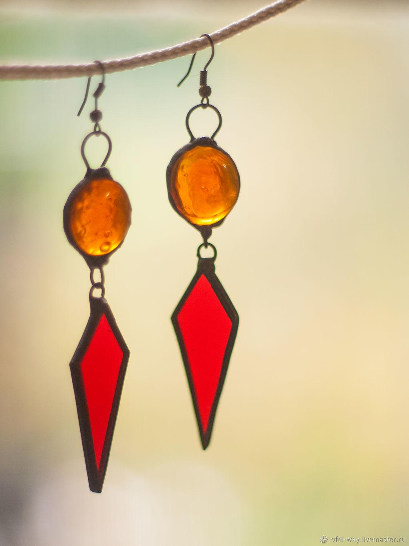 earrings. Fangs Of Flame, Earrings, St. Petersburg,  Фото №1