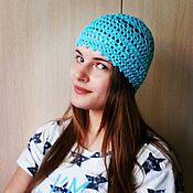 Аксессуары handmade. Livemaster - original item Beanie crochet. Handmade.