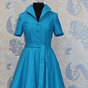 Одежда handmade. Livemaster - original item Retro dress in the style of 50`s