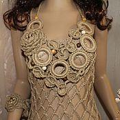 Аксессуары handmade. Livemaster - original item Boho necklace massive jute.. Handmade.