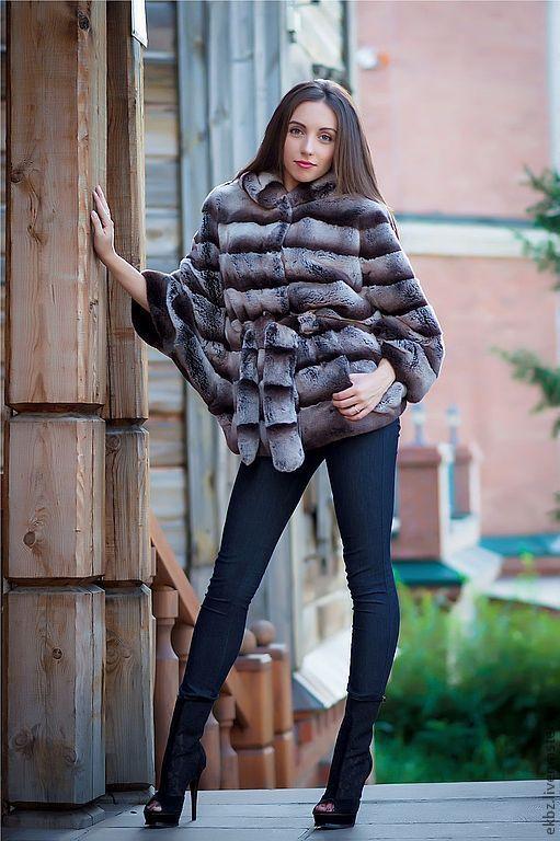 Меховая куртка из меха кролика Рекс(Германия).\r\n