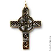 """Украшения ручной работы. Ярмарка Мастеров - ручная работа Кулон """"Кельтский Крест"""". Handmade."""