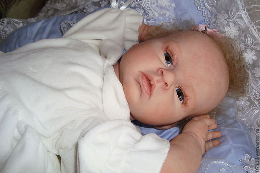 Куклы-младенцы и reborn ручной работы. Ярмарка Мастеров - ручная работа. Купить кукла реборн Майя. Handmade. Бежевый