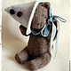 Мишки Тедди ручной работы. котёнок Фантик. Марианна Пташинская. Интернет-магазин Ярмарка Мастеров. Котенок, медвежонок, котёнок фантик