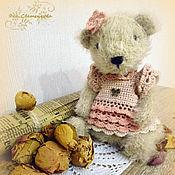 Куклы и игрушки ручной работы. Ярмарка Мастеров - ручная работа Мишка тедди Розалия. Handmade.
