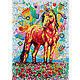 Painting with a unicorn ' Great Unicorn', Pictures, Morshansk,  Фото №1