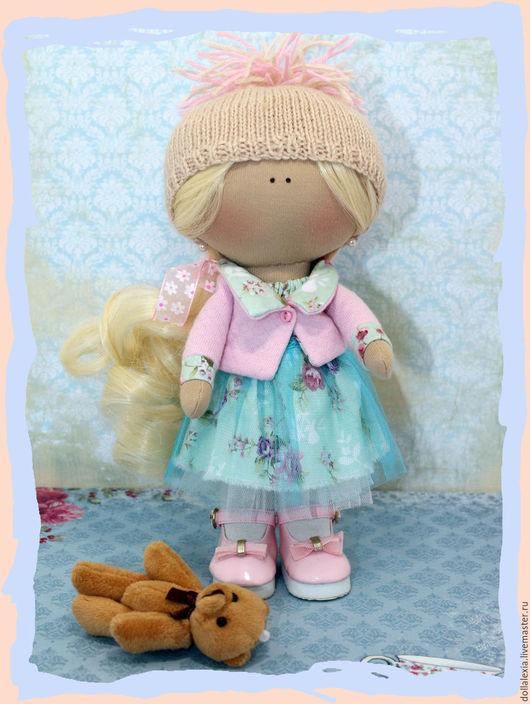 Коллекционные куклы ручной работы. Ярмарка Мастеров - ручная работа. Купить Кукла Светлана интерьерная текстильная тыквоголовка. Handmade. Комбинированный