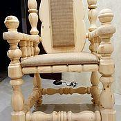 Русский стиль ручной работы. Ярмарка Мастеров - ручная работа Деревянное кресло. Handmade.