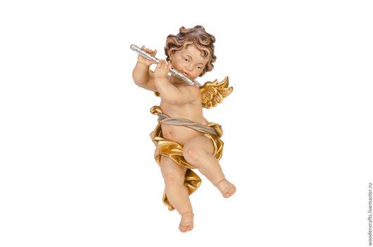 Персональные подарки ручной работы. Ярмарка Мастеров - ручная работа. Купить Купидон с флейтой. Handmade. Комбинированный, купидон с флейтой, ангел