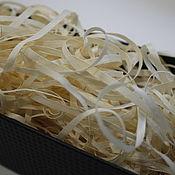 Наполнитель ручной работы. Ярмарка Мастеров - ручная работа 1кг Древесная шерсть из осины Premium. Handmade.