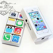 Подарки к праздникам handmade. Livemaster - original item Candies and chocolates in a gift box. Shokoboks IPhone.. Handmade.