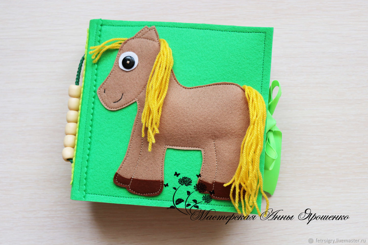 Educational book from felt. minibook, Cubes and books, Chelyabinsk,  Фото №1