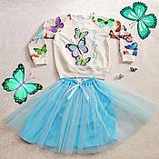 """Работы для детей, ручной работы. Ярмарка Мастеров - ручная работа Костюм именной для девочки """"Бабочки"""". Handmade."""